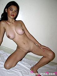 Alma Nude On Bed